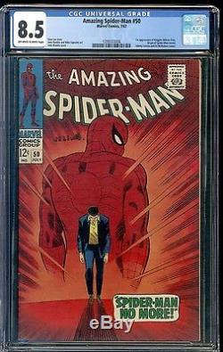 1967 Amazing Spider-Man #50 CGC 8.5 1st Appearance of Kingpin! HUGE KEY