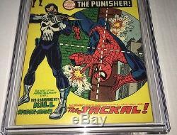 1974 Marvel Amazing Spider-Man Comic Book #129 1st Punisher Bronze Key CGC 7.0