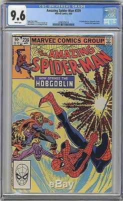 1983 Amazing Spider-Man 238 & 239 CGC 9.6 1st Hobgoblin