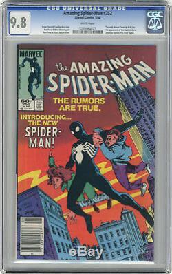 1984 Amazing Spider-Man 252 & 298 CGC 9.8 1st Black Suit & McFarlane Venom