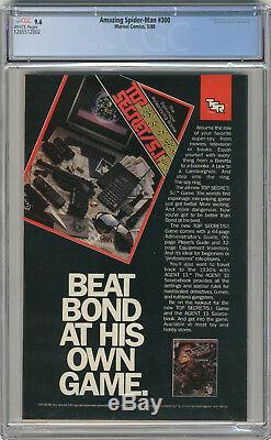 1988 Amazing Spider-Man 300 CGC 9.6 1st Venom White Pages