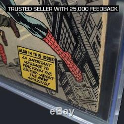 AMAZING FANTASY #15 CGC 1.5 Off-White to White 1st Spider-Man 1962 1.0 2.0