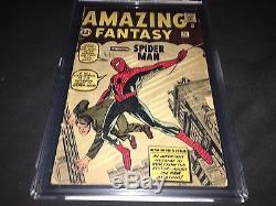 AMAZING FANTASY #15 FIRST SPIDERMAN CGC 2.0 SIlver Key