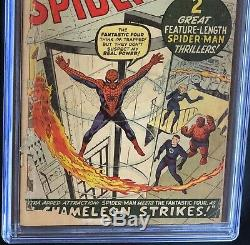 AMAZING SPIDER-MAN #1 (1963) CGC 0.5 MEGA-KEY! 1st in Own Series! Marvel