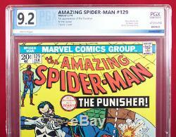 AMAZING SPIDER-MAN #129 PGX 9.2 NM- Near Mint Minus FIRST PUNISHER! +CGC