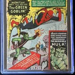 AMAZING SPIDER-MAN #14 (1964) CGC 0.5 OW-W 1st App of GREEN GOBLIN! Comic
