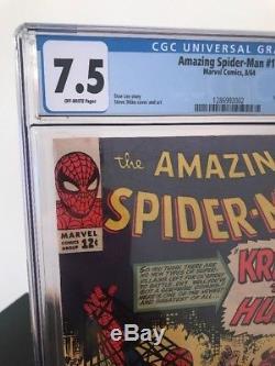 AMAZING SPIDER-MAN #15 // 1st App KRAVEN // CGC 7.5