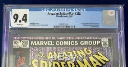 AMAZING SPIDER-MAN #238 1st Appearance of Hobgoblin CGC 9.4 White Pages