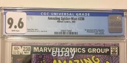 AMAZING SPIDER-MAN #238 CGC 9.6 WHITE RARE With TATTOOZ 1ST HOBGOBLIN! New Slab