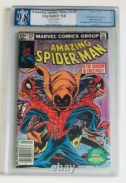 AMAZING SPIDER-MAN #238 PGX 9.8 NEWSSTAND 1st Appearance Hobgoblin (NOT CGC)