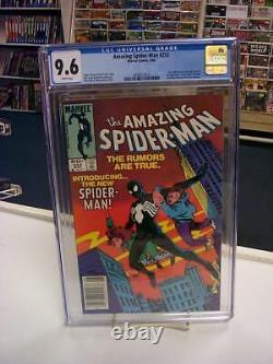 AMAZING SPIDER-MAN #252 (Newsstand Edition) CGC Graded 9.6! White Pages