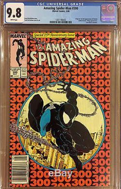 AMAZING SPIDER-MAN #300 1st FULL VENOM CGC 9.8 WP NEWSSTAND EDITION UPC