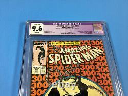 AMAZING SPIDER-MAN # 300 CGC 9.6 Restored (C-1) White Pages 1st Venom KEY