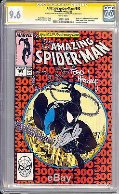Amazing Spider-man 300 Cgc 9.6 Ss Signed Stan Lee Todd Mcfarlane Key 1st Venom