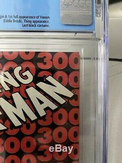 AMAZING SPIDER-MAN 300 CGC 9.8 NM/MT 5/88 Todd McFarlane 1ST APP VENOM