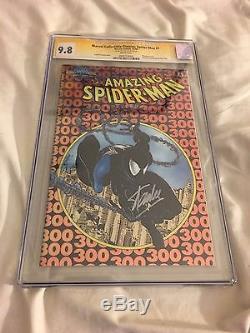 Amazing Spider-man #300 Chromium Classics Cgc Ss 9.8 Signed Stan Lee