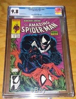 AMAZING SPIDER-MAN #316 CGC 9.8 (1989) 1st VENOM Cover Todd McFarlane