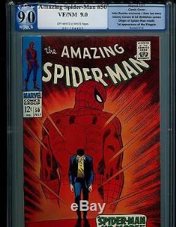 Amazing Spider-man 50 Pgx 9.0 V. 1! 1st Kingpin! Like 14, 121, 129! Not Cgc