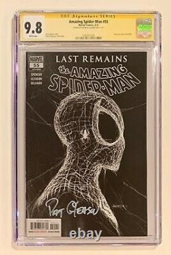 AMAZING SPIDER-MAN #55 CGC 9.8 SIGNED GLEASON Trade 1st Print IN HAND