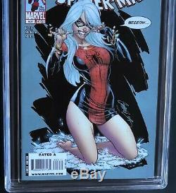 AMAZING SPIDER-MAN #607 (2009) CGC 9.8 J. Scott Campbell Black Cat Cover