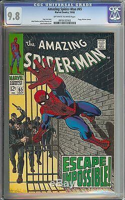 Amazing Spider-man #65 Cgc 9.8 / Stan Lee Story