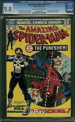 AMAZING SPIDERMAN #129 CGC 9.8 (1st App Punisher/ Frank Castle) 1039533001