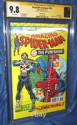 AMAZING SPIDERMAN #129/Deadpool 287 CGC 9.8 SS John Romita SrLENTICULAR VARIANT