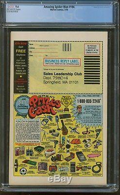 AMAZING SPIDERMAN 194 CGC-GRADED 9.6 NM+ 1st Black Cat Marvel 1979 A17793