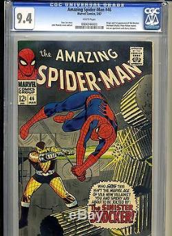 Amazing Spiderman #46 (1966) Cgc 9.4 No Reserve