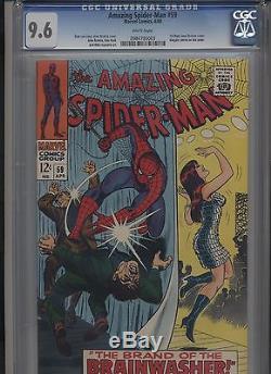 Amazing Spiderman #59 (1968) Cgc 9.6 No Reserve