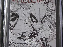 Amazing Spiderman #700 Cgc Ss 9.8 Sketch 1200 Wraparound Cvr +cgc Ss 9.8 1100