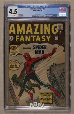 Amazing Fantasy #15 1962 CGC 4.5 1270654011