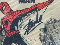 Amazing Fantasy #15 1962 Key 1st Appearance Spider-Man CGC 1.5 SS Stan Lee DM000