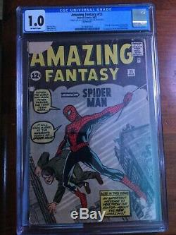 Amazing Fantasy #15 CGC 1.0 First appearance of Spider-Man