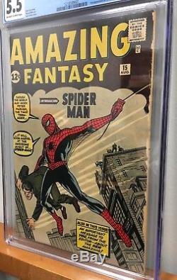 Amazing Fantasy 15 CGC 1st Spider-Man
