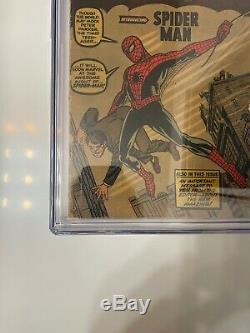 Amazing Fantasy #15 CGC 2.0 1962 (1st Spider-Man Appearance)