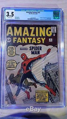 Amazing Fantasy #15 CGC 3.5
