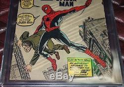 Amazing Fantasy #15 CGC 3.5 OW 1st Spider-Man Key Holy Grail. Marvel. No Reserve