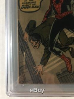 Amazing Fantasy #15 CGC 4.0 Signed Stan Lee Cream/Off White No Chipping