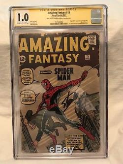 Amazing Fantasy #15 CGC SS