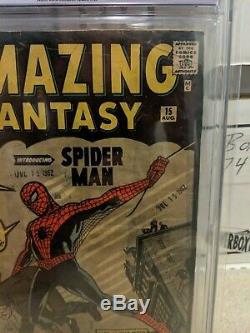 Amazing Fantasy #15 (September 1962, Marvel) CGC 1.0 RESTORED