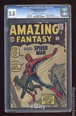 Amazing Fantasy (1962) #15 CGC 2.5 0996066002