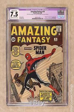 Amazing Fantasy (1962) #15 CGC 7.5 RESTORED 0065231003