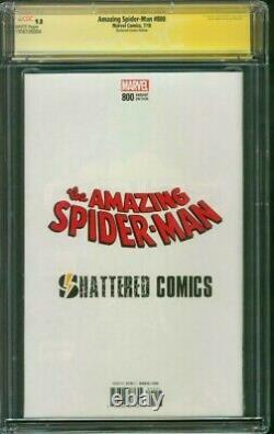Amazing SPIDER MAN 800 CGC SS 9.8 McFarlane Shattered 300 Variant Venom 2018