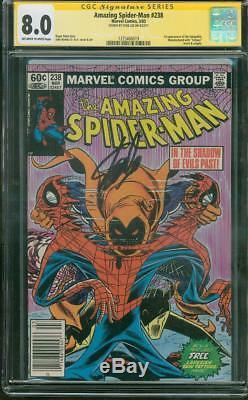 Amazing SPIDER Man 238 CGC SS 8.0 Stan Lee John Romita art 1983 1st Hobgoblin