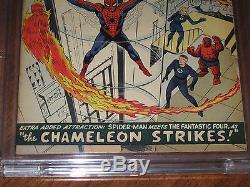 Amazing Spider-Man #1 CBCS FN- 5.5 1st J. J. Jameson & 2nd Spider-Man! Not CGC