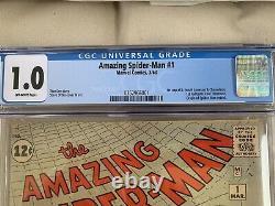 Amazing Spider-Man 1 CGC 1.0