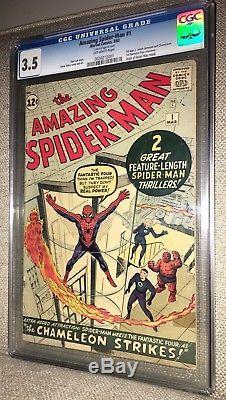 Amazing Spider-Man 1 CGC 1st Title In Series