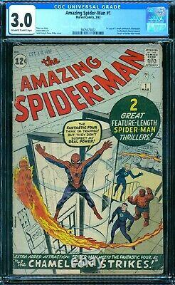 Amazing Spider-Man 1 CGC 3.0 owithw pages