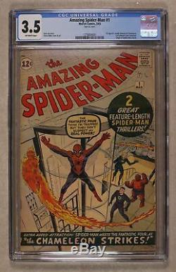 Amazing Spider-Man #1 CGC 3.5 1963 1270654001